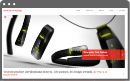 screnshot of product development campaign