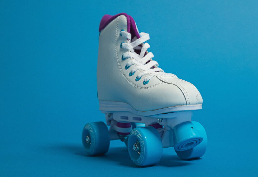 colorful box skate